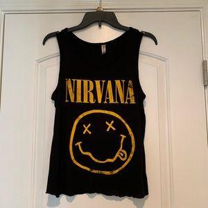 Nirvana Graphic Tank sz L